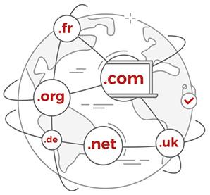 ثبت دامنههای ملی و بینالمللی