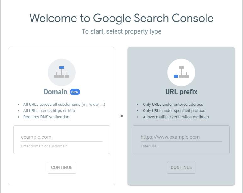 نحوه ثبت سایت در گوگل سرچ کنسول