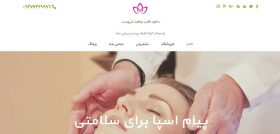 spa and salon wp theme