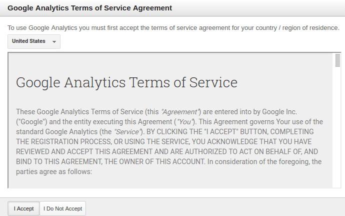آموزش ثبت سایت در گوگل آنالیتیکس